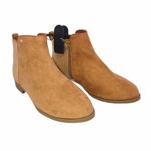 (SH-017) Wonder Nation Brown Boots Size 3